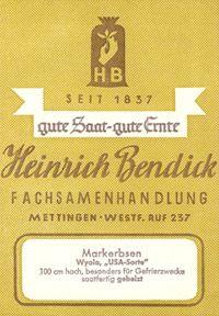 Bendick Geschichte 4