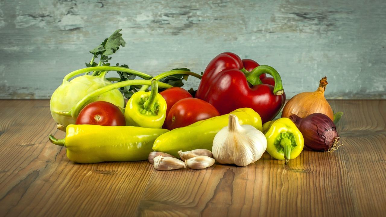 Eigenes Gemüse im Garten