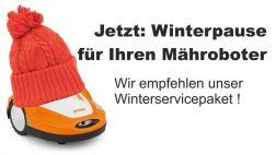 Mähroboter Inspektion bei Bendick in Mettingen