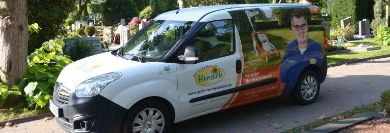 Dauergrabpflege bei Bendick in Mettingen