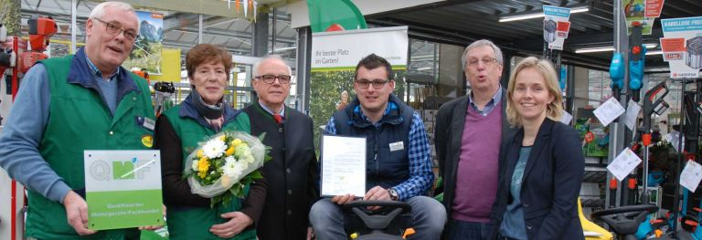 Bendick in Mettingen ist QMF-zertifizierter Fachhändler